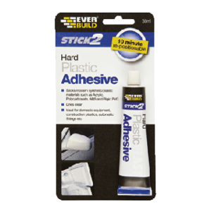 30ml HARD PLASTIC ADHESIVE