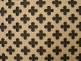 1200 X 600 SMALL QUARTREFOIL ORNAMENTAL PANEL