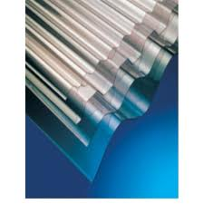 2440mm x 662mm MINI CLEAR CORRUGATED PVC